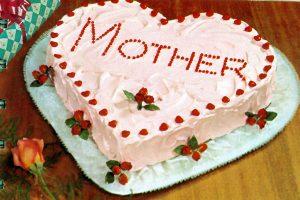 Muttertagstorte - Herztorte - Herzform