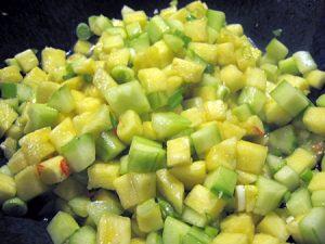 ananas-gurken-salat