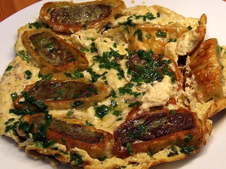 Geröstetes Maultaschen-Omelette