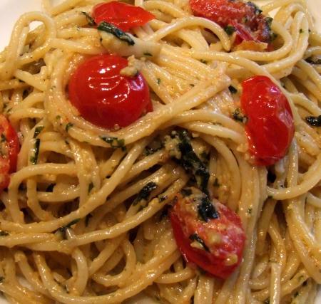 Spaghetti mit Pesto alla genovese