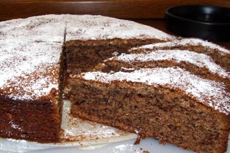 Ameisenkuchen (mit Schokolade und Eierlikör)