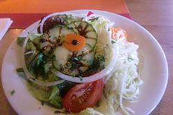 """Salat in der Gaststätte """"Zum Schorsch"""""""