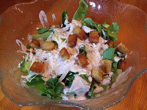 einfache Version Cesar's Salat