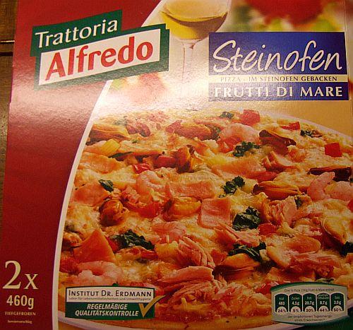 """Steinofenpizza  Frutti di mare der Marke """"Trattoria Alfredo"""""""
