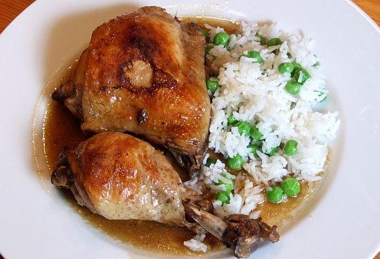 Philippinisches Hühnchen Adobo
