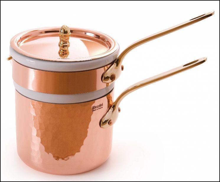 Mauviel Kupfer-Ausführung, gesehen bei www.cucinaria.de
