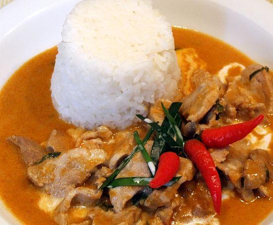 Foto Panang-Curry mit Schweinefleisch