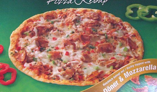 """Foto: Verpackung """"Döner pizza - Pizza Kebap"""" von Mekkafood"""
