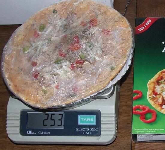 """Foto:""""Dönerpizza Pizza Kebap"""" von Mekkafood auf Küchenwaage"""