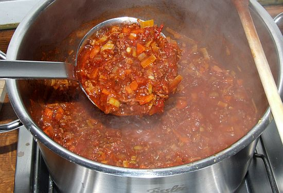 Foto: Sauce Bolognese nach Frank Oehler