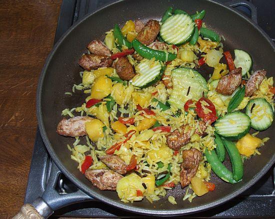 Foto: Fertiggericht Hähnchen-Curry von Frosta