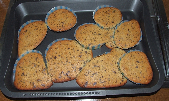 Foto: Missglückte Schoko-Orangen-Muffins