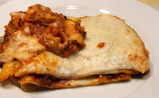 Foto: Portion Lasagne Bolognese von Frosta