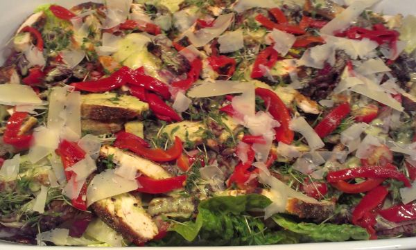 Foto: Cesar's Salad nach Jamie Oliver