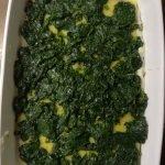 Foto: Lasagne mit Gorgonzola und Walnüssen